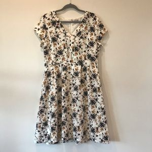 Downeast Collection Floral Dress